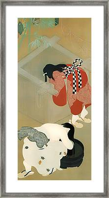 Tanabata Festival Framed Print