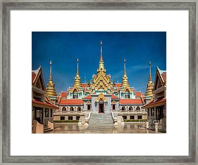 Tang Sai Temple Framed Print