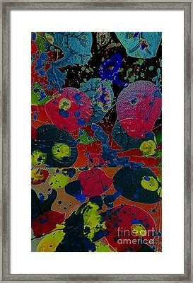 Framed Print featuring the painting Tangent by Jacqueline McReynolds