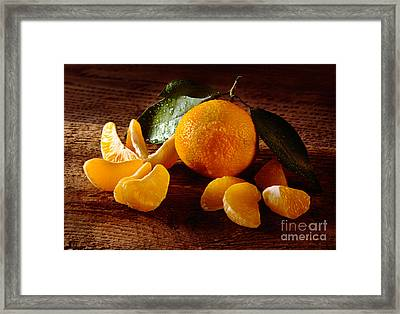 Tangerine Framed Print by Iris Richardson