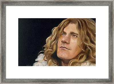 Tangerine Framed Print by Jena Rockwood