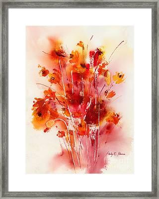 Tangerine Tango Framed Print by Hailey E Herrera