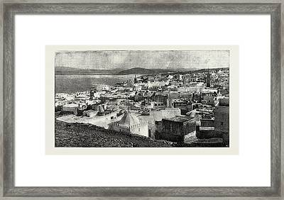 Tangier From The Kesba, Tangier, Morocco Framed Print by Litz Collection