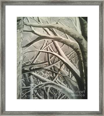 Tangle Framed Print by Pheonix Creations