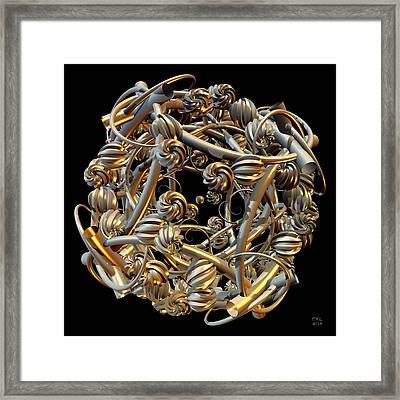 Tangle Framed Print by Manny Lorenzo
