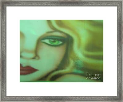 Tangled - Abstract Framed Print