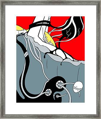Tangled Framed Print by Craig Tilley