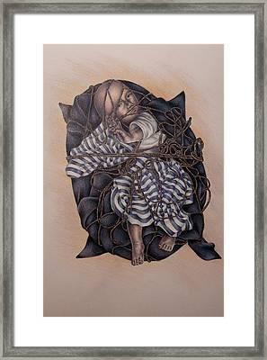 Tangled Framed Print by Lisa Marie Szkolnik