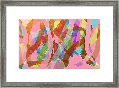 Tangled Web Framed Print by Naomi Jacobs