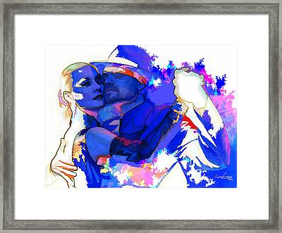 Tango Argentino - Pride And Devotion Framed Print by Reno Graf von Buckenberg