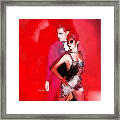 Tango Argentino - Sensual Erotic Framed Print by Reno Graf von Buckenberg