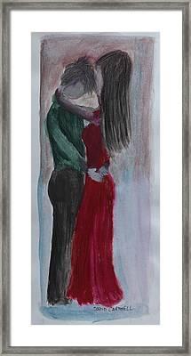 Tango Framed Print by David Cardwell