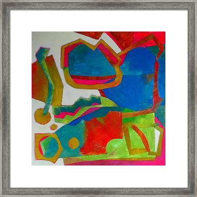 Tango Framed Print by Diane Fine