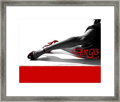 Tango Framed Print by Doug Walker