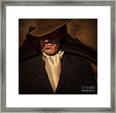 Tango - El Hombre Framed Print by Michel Verhoef