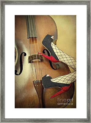 Tango For Strings Framed Print by Evelina Kremsdorf