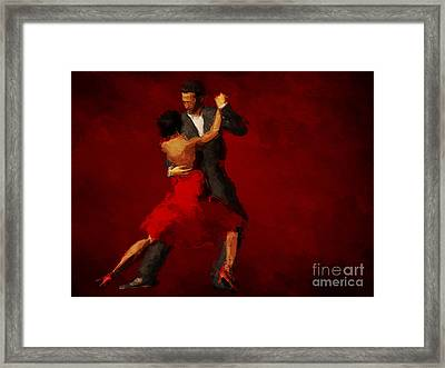 Tango Framed Print by John Edwards