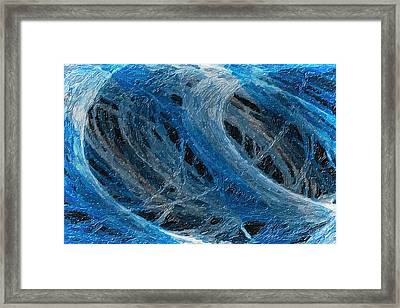 Tango Of The Lights 1 Framed Print