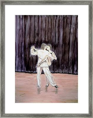 Tango Passion. Framed Print