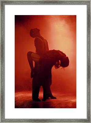 Tango Passion Framed Print by Steven Boone