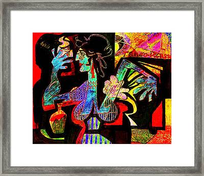 Tango Picasso-ii Framed Print by Dean Gleisberg