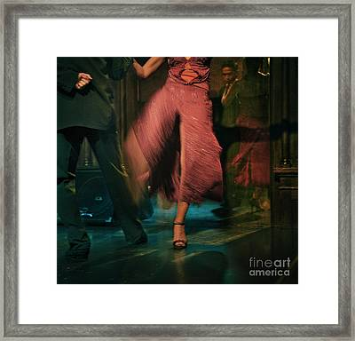 Tango - The Dance Framed Print by Michel Verhoef
