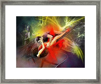 Tangoscape 06 Framed Print by Miki De Goodaboom