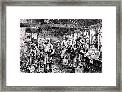 Tangy Brothers Engineering Works Framed Print by Universal History Archive/uig