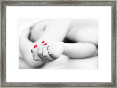 Tania Framed Print by Stelios Kleanthous