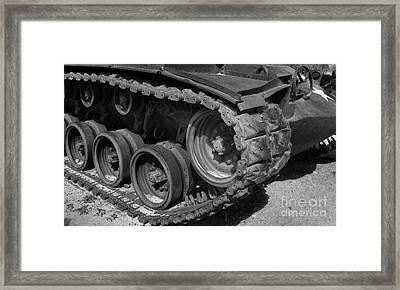 Tank-m48 Framed Print
