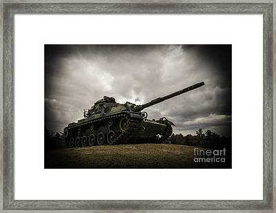 Tank World War 2 Framed Print by Glenn Gordon