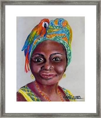 Tansey's Pride Framed Print