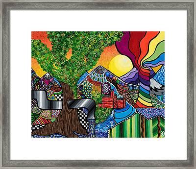 Tantalizing Tree Framed Print