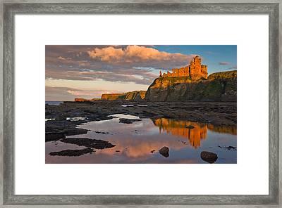 Tantallon Castle Framed Print by David Ross