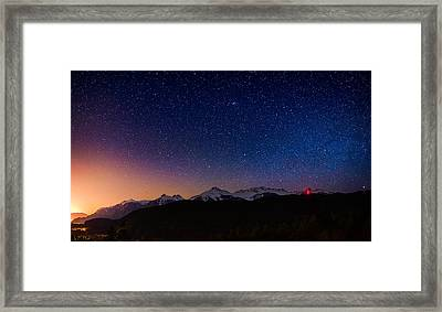 Tantalus Lookout Framed Print by Alexis Birkill