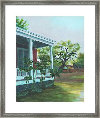 Tante Huppe Inn Framed Print by Ellen Howell