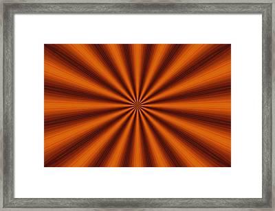 Tantric Bronze Framed Print