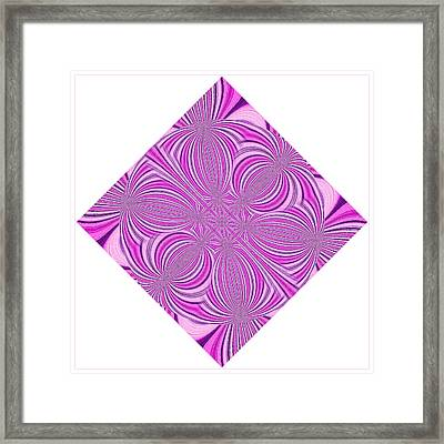 Tantric Pink Framed Print