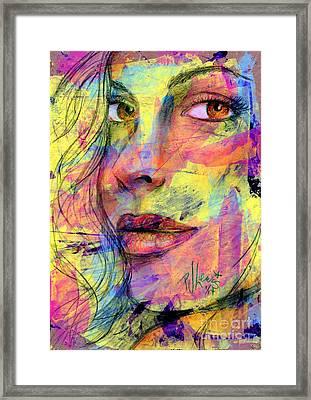 Tanya Framed Print by P J Lewis