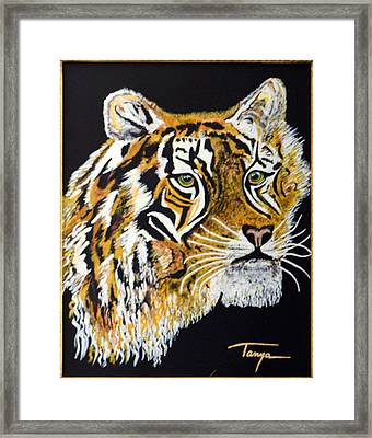 Tanyas Tiger......... Framed Print