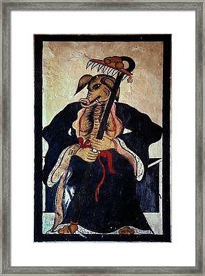 Tao God Of Agriculture Framed Print by Patrick Landmann/science Photo Library