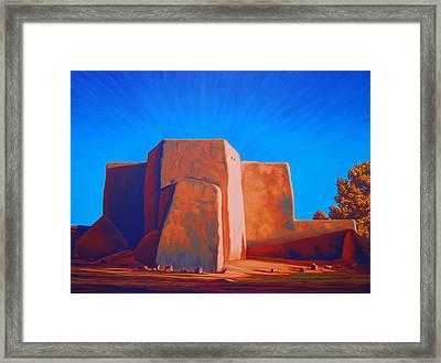 Taos Framed Print