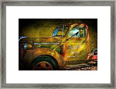Taos Chevy II Framed Print