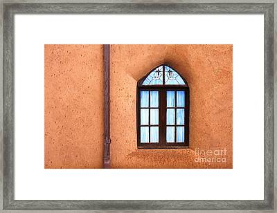 Taos Church 2 Framed Print by Kathlene Pizzoferrato