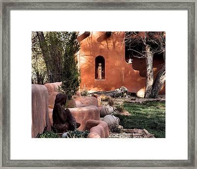 Taos Dreamers Framed Print