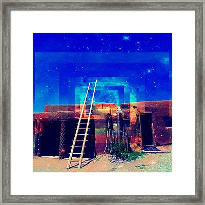 Taos Dreams Come True Framed Print