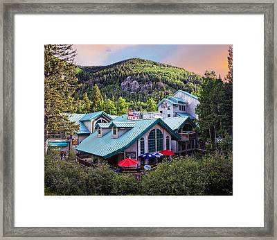 Taos Mountain Heaven Framed Print by Shanna Gillette