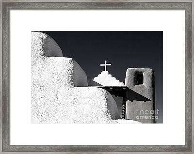Taos Pueblo Chapel Framed Print