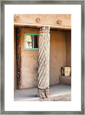 Taos Pueblo Study 3 Framed Print