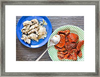 Tapas Framed Print by Tom Gowanlock